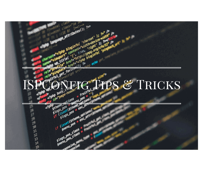 How to fix ISPConfig 3 webmail issue