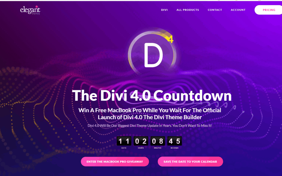 Divi 4.0 is coming